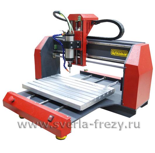 Гравировально-фрезерная машина Vektor VG-1630 c вакуумным столом